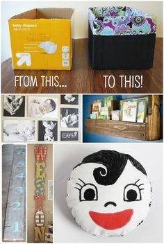Getting baby's room ready for new baby? Or is the little cutie already here, just looking to change it up? Either way we have you covered! 15 Really Cool Projects for Baby's Room: You are My Sunshine Wall Art {using baby's handprints!} — via The Realistic Mama DIY Baby Toy — via Kids Activity Blog …
