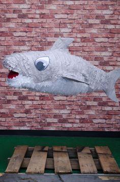Shark Piñata. Exclusively at La Piñata Party. El Segundo, CA.