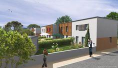 à Angoulins sur mer (17) 4 maisons avec jardin d'environ 100m² composées de 3 chambres + garage. Visitez notre site web: http://www.groupe-littoral.com/