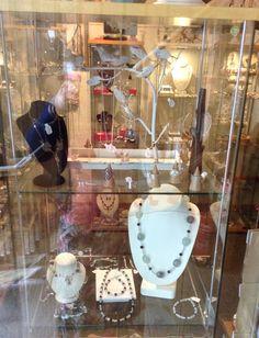 Window display jewellery shop