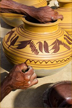 Potters and pottery