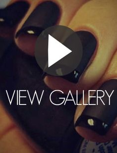 Nail it:  Update you black mani with these digit ideas from Instagram