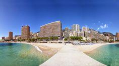 Larvotto Beach, Monte-Carlo, Monaco  #Larvotto #Beach #MonteCarlo #Monaco #Maladeviagem