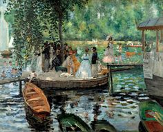 The Bathing Place by Pierre-Auguste Renoir | Art Posters & Prints