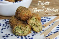 Le Polpette di Tonno e Zucchine sono sfiziosi bocconcini che finiscono in un attimo da tanto che sono buoni..o come aperitivo o come secondo sono ottime :d