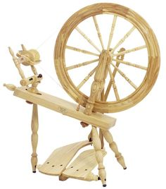 Elizabeth's Fiber and Yarn Supplies, Knit, Spin, Weave: Schacht Reeves Saxony Spinning Wheel