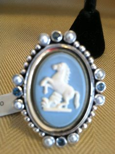 Devon Blue Cameo from Mars and Valentine!  Soon coming to www.caracolsilver.com