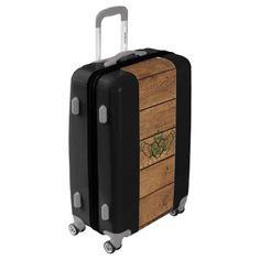 #rustic - #Rustic Celtic Claddagh Luggage