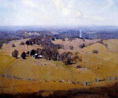 Midsummer William Dunn Knox (1880-1945) Australia