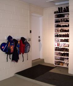 Etonnant Shoe Storage Garage   Google Search Mud Room Garage, Garage Entry, Garage  Shed,