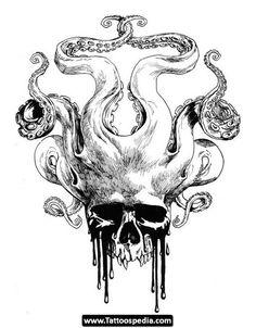Skull/Octopus