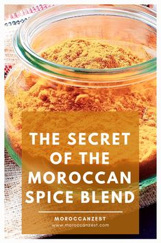 The Real Moroccan Spice Blend Recipe - Moroccan RecipesThis Moroccan spice mix recipe was in my family for generations. easy to make, it will become a staple in your kitchen and the secret ingredients for hearty flavorful stews. full recipe on moroc Homemade Spice Blends, Homemade Spices, Homemade Seasonings, Spice Mixes, Morrocan Food, Moroccan Dishes, Moroccan Spices, Moroccan Recipes, Moroccan Spice Blend