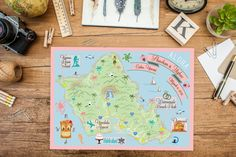 Custom Wedding MAP A