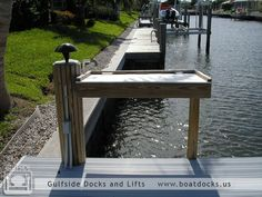 Fish cleaning table for dock Fish Cleaning Table, Fish Cleaning Station, Lake Dock, Boat Dock, Dock House, Lakefront Property, Boat Lift, Water House, Waterfront Homes
