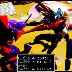 覚醒初号機 vs. 使徒化三号機  Evangelion Unit 01(awakening) VS. Evangelion Unit 03(Angel ver. )