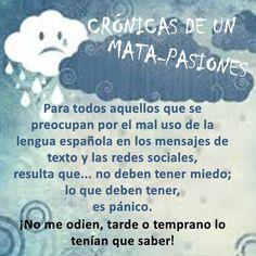 Para todos aquellos que se preocupan por el mal uso de la lengua española, resulta que... #Sarcasmo #RAE #DíaDelLibro