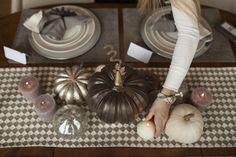 Thanksgiving Table Decor    oliviarink.com