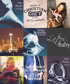 Mis libros favoritos: 50 shades of grey