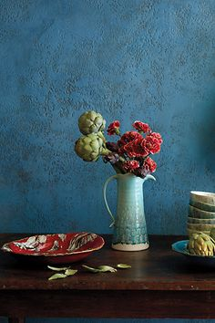 Love interesting artifacts like this which create beautiful stil life settings. Old Havana Serveware #anthrofave #anthropologie.com