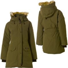 Canada Goose' ladies' limited edition merino wool kensington parka