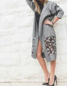coat,jacket,Launda collection iran t,outwear Mode Abaya, Mode Hijab, Abaya Fashion, Fashion Dresses, Fashion Details, Fashion Design, Fashion Trends, Summer Coats, Abaya Designs