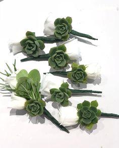 "Bosonis Filippos ⚜🌹 on Instagram: ""#weddingday #buttonholes #succulents #kefaloniaisland @bosonis.art"" Buttonholes, Succulents, Wedding Day, Island, Bridal, Plants, Instagram, Art, Pi Day Wedding"