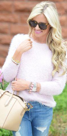 Basic Fluffy Sweater