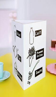 milk +ice-cream+strawberries=Milkshake (and similar ingredient-orientated designs eg brownies, cupcakes, ice0lollies, choclate etc)