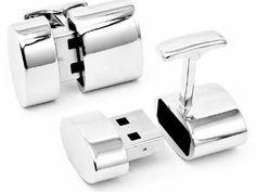 James Bond gadgets | Des boutons de manchettes USB et hotspot WiFi