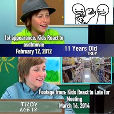 More Troy Glass from Kids React.