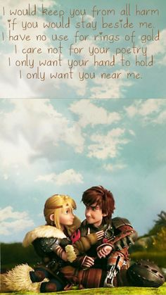 Hiccup and Astrid, for the Dancing and the Dreaming (Stoick and Valka's ballad) made by me!!