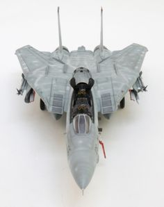 F-14B from Hasegawa, detailed with Aires cockpit and wheel wells, Shull24 exhausts, Wolfpack Bombcat conversion, Tamiya bombs and Kinetic sidewinders.