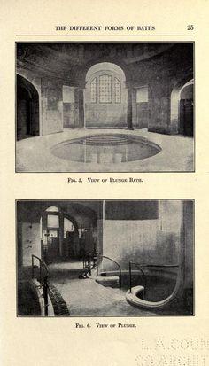 Modern baths and bath houses