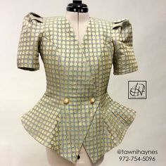 New Jacket design in progress! Submit your custom order @ www.tawnihaynes.com/order or call 972-754-5096.