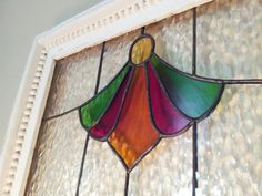 Rustic+Wood+Framed+Angelic+Ruby+Florets+Stained+by+SKDGalerie,+$70.00
