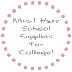 Need help college supplies?