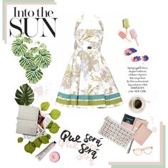 Into the Sun by soniafortunaofficial on Polyvore featuring moda, Royce Leather, Dot & Bo, Linea, Rainforest and SONIA