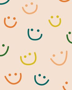 happy by Megan Monismith Girly Wallpaper, Cute Patterns Wallpaper, Iphone Background Wallpaper, Aesthetic Iphone Wallpaper, Aesthetic Wallpapers, Screen Wallpaper, Cute Wallpaper Backgrounds, Pretty Wallpapers, Iphone Backgrounds