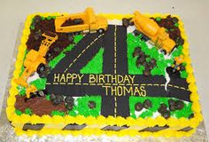 Image result for construction truck cakes