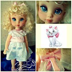 #disney #ooak #repaint #babitime #custom #doll #marie #thearistocats…