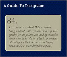A Guide To Deception — The technique has proven to be a headache in the...