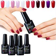 Belen 10ml Nail Polish Color UV Gel Gradient Based Nail Lacquer Primer Gel Top Coat Nail Art UV Gels for Nails Art Paints