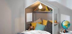 Tête de lit cabane