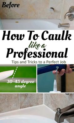 Repairing and Caulking Baseboards like a Pro Bathtub Caulking, Bathroom Caulk, Caulking Tips, Bathroom Repair, Bathrooms, Caulk Baseboards, Interior Window Sill, Installing Wainscoting, Cleaning Paint Brushes