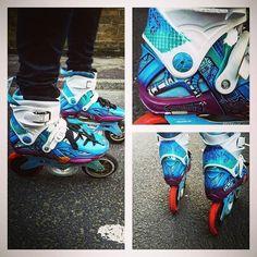 New design #3x125 #125mm #powerslide #rolllikehell #rollerblading #powerslide #3x3 #ionicflux #megacruiser #taktikalv #powerslidefothon #fothon #3wheelskates #3x3wheels #imperial #freeskate #custom #customdesign @powerslidebrand @3x3wheels