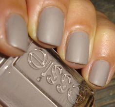 "Essie ""Miss Fancy Pants""matte. Eva needs this."