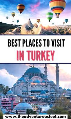 Traveling to Turkey and wondering what to do? Here are the most beautiful places in Turkey that you shouldn't miss.| best places to visit in turkey| Turkey places to visit| Travel destinations in Turkey| Bucket list places in Turkey| Best cities to visit in Turkey| Turkey cities to visit| best things to do in turkey| tourist attractions in turkey| Turkey tourist attractions | what to do in Turkey| must visit place in Turkey | turkey bucket list #theadventurousfeet Turkey Tourist Attractions, Turkey Places, Visit Turkey, Turkey Travel, Africa Travel, Best Cities, Cool Places To Visit, Where To Go, Night Life