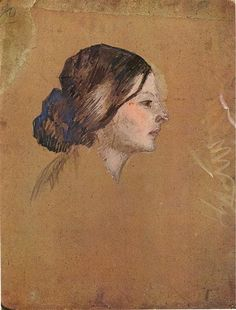 Madeleine, 1904 by Pablo Picasso. Post-Impressionism. sketch and study