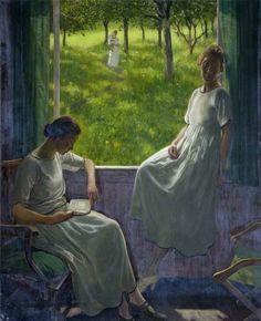 "womeninarthistory: "" Sisters, Robert Sivell """