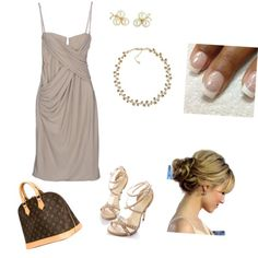classy by esmama on Polyvore featuring polyvore fashion style LOVE SEX MONEY COLLECTION Louis Vuitton Vintage Carolee